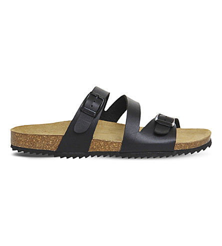 OFFICE Bounty leather sandals (Black