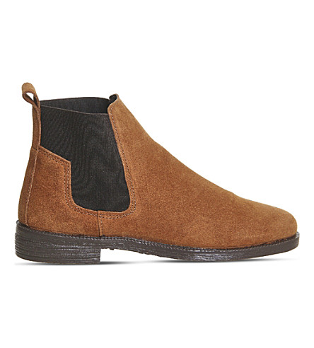 OFFICE Jamie suede Chelsea boots (Tan+suede
