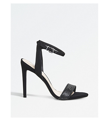 OFFICE 阿娜拉单凉鞋 (黑色 + 砂