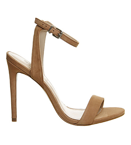 OFFICE Alana nubuck leather sandals (Nude+nubuck