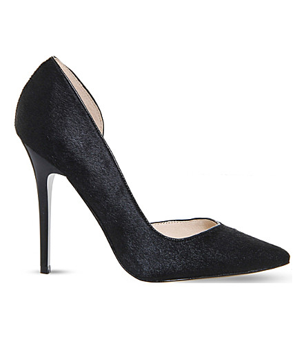 OFFICE Natalie dorsay pony-leather courts