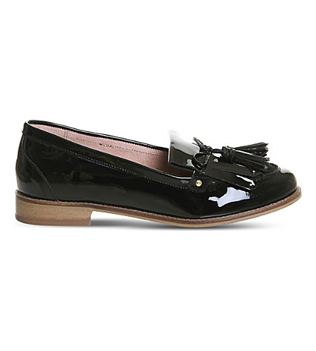 OFFICE Extravaganza patent leather loafers (Black+patent+suede