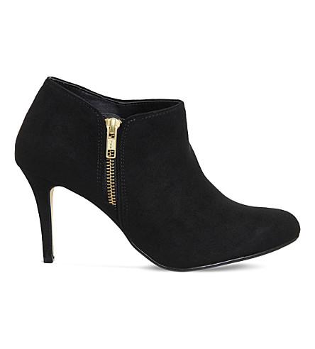 OFFICE Fabulous suedette shoe boots (Black
