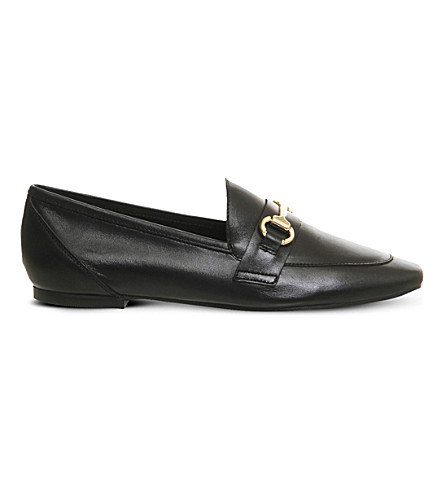 OFFICE Destiny leather loafers (Black+leather