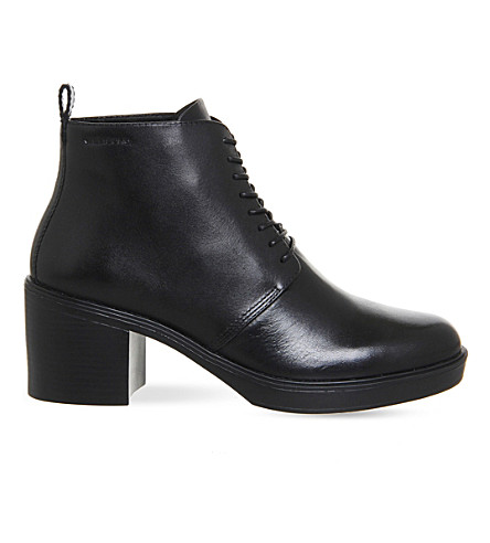 VAGABOND Tilda leather ankle boots (Black+leather