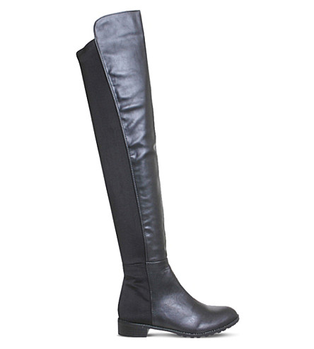 OFFICE Kiwi over-the-knee boots (Black