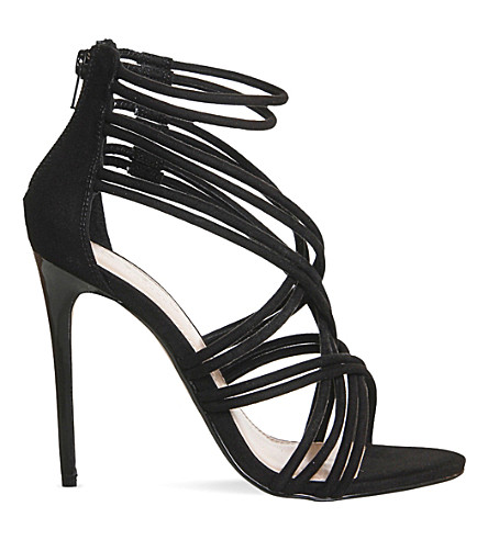 OFFICE Nadia strappy heeled sandals (Black