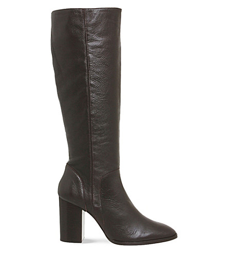 office kan kan knee high leather boots selfridges