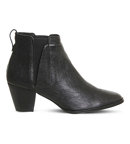OFFICE Binky leather ankle boots