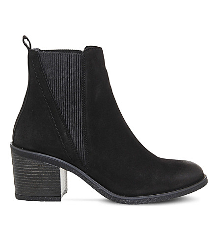 OFFICE Lasoo leather chelsea boots (Black leather
