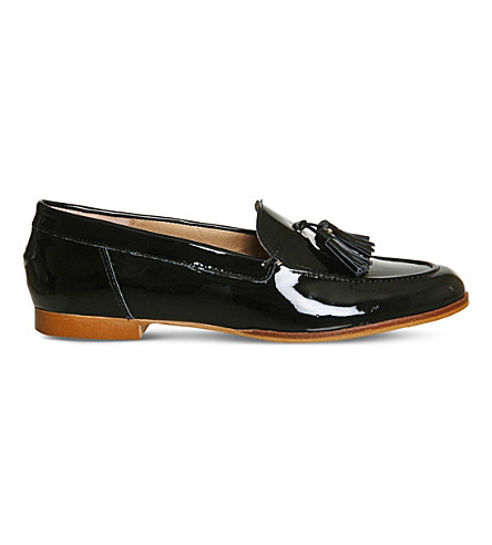 OFFICE Petra patent-leather loafers (Black+patent+leather