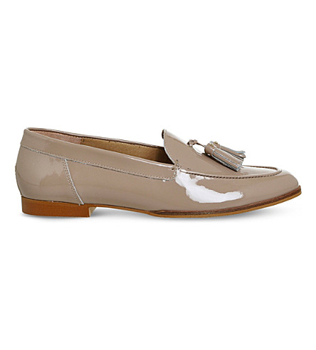 OFFICE Petra patent-leather loafers (Nude+patent