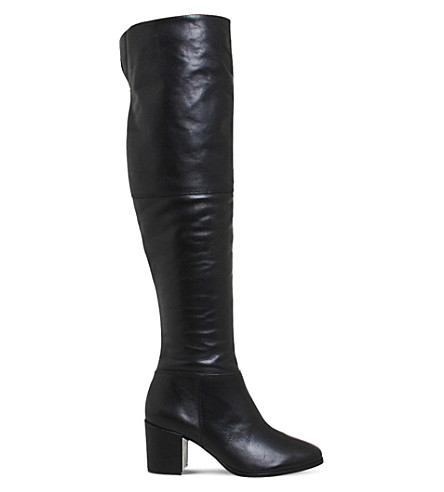 office it all leather knee high boots selfridges