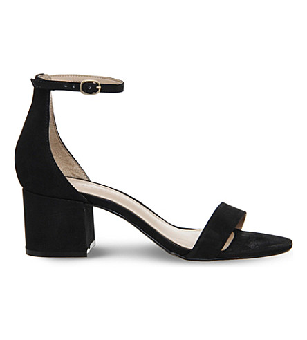 OFFICE Finley suede sandals (Black+nubuck