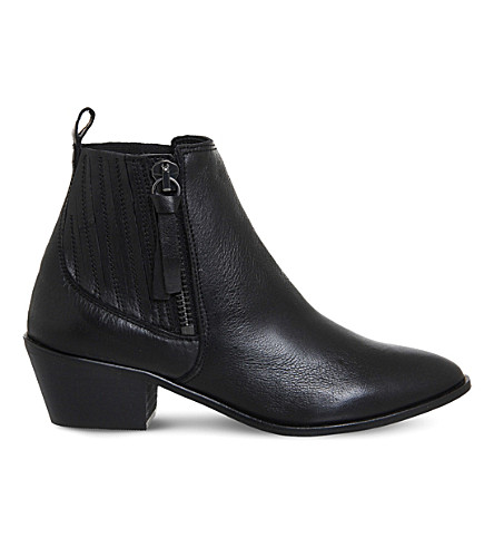 OFFICE Luca leather Western boots