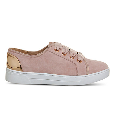 OFFICE Adore suede trainers (Pink