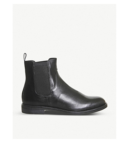 VAGABOND Amina Chelsea boots (Black+leather