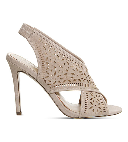 OFFICE Heavenly laser cut sandals (Nude
