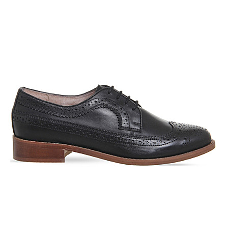 OFFICE Freddy leather brogues (Black+leather