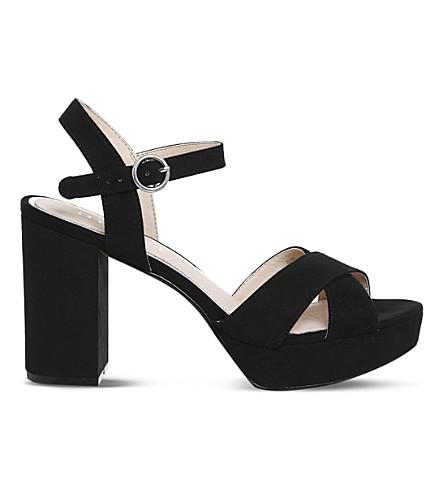 OFFICE Misty platform sandals (Black