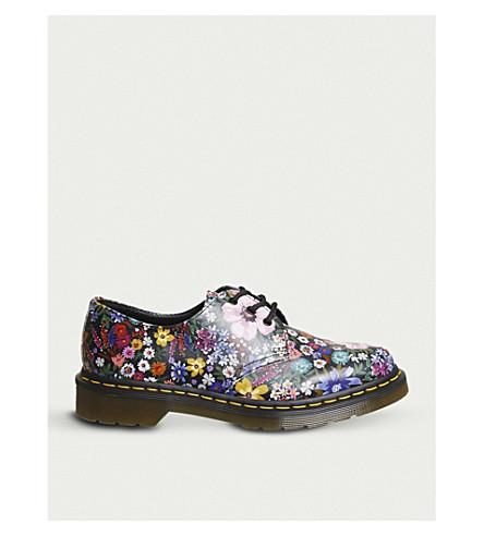 DR. MARTENS 1461 Wanderlust leather shoe (Black+mallow+pink