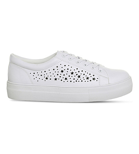 OFFICE Fazer star trainers (White