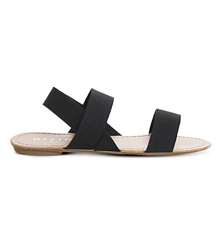 OFFICE Swift elastic sandals (Black