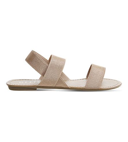 OFFICE Swift elastic sandals (Rose+gold