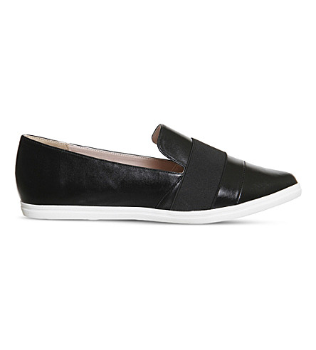 OFFICE Fig Point faux-leather pumps (Black