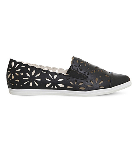OFFICE Friyay laser-cut pumps (Black