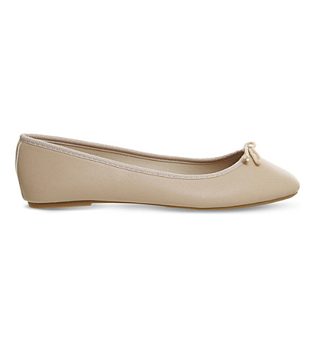 OFFICE Foot step ballet flats (Nude