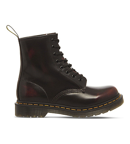 DR. MARTENS 1460 8 eyelet leather boots (Cherry+red+arcadia