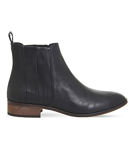 OFFICE Ashton leather Chelsea boots (Black+leather
