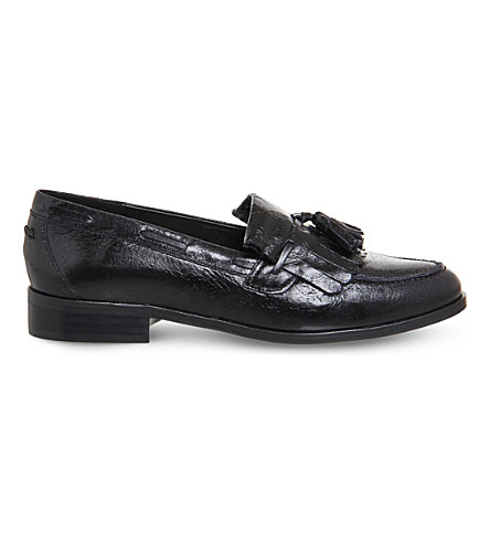 OFFICE Extravaganza 2 leather loafers (Black+leather