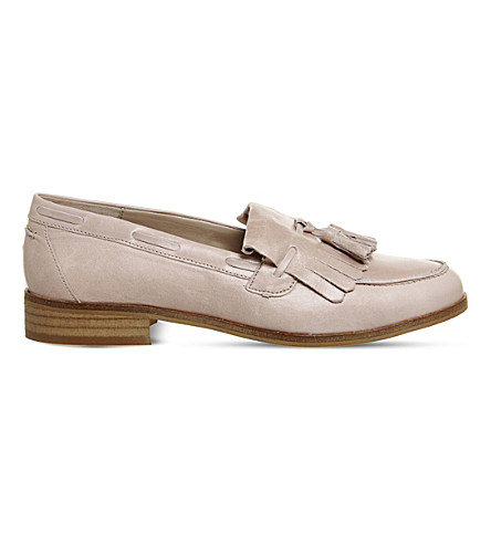 OFFICE Extravaganza 2 leather loafers (Nude+leather