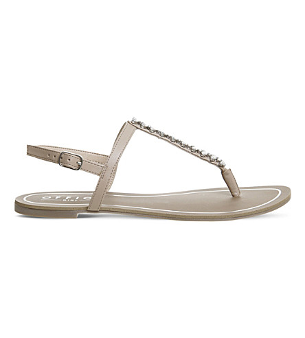 OFFICE Sprinkles embellished sandals (Nude