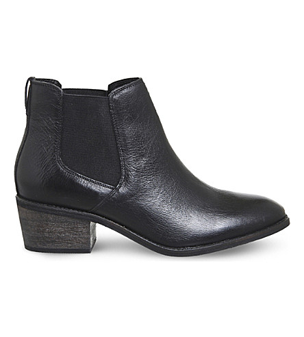 OFFICE Anakin leather Chelsea boots (Black+leather
