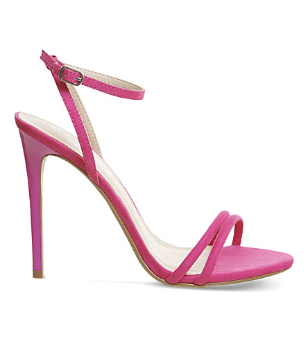 OFFICE Hibiscus suede sandals (Pink