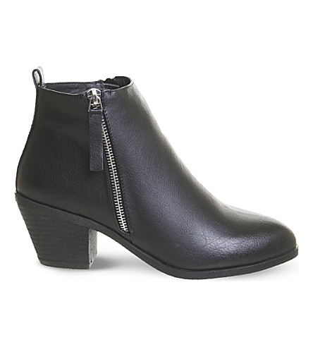 OFFICE Anita side-zip ankle boots (Black