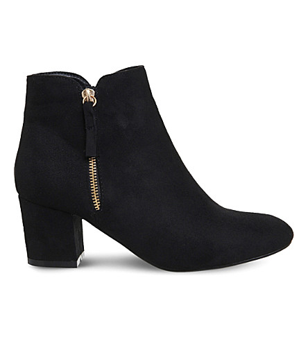 OFFICE Alicia side-zip ankle boots (Black
