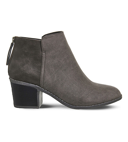 OFFICE Ace ankle boots (Chocolate