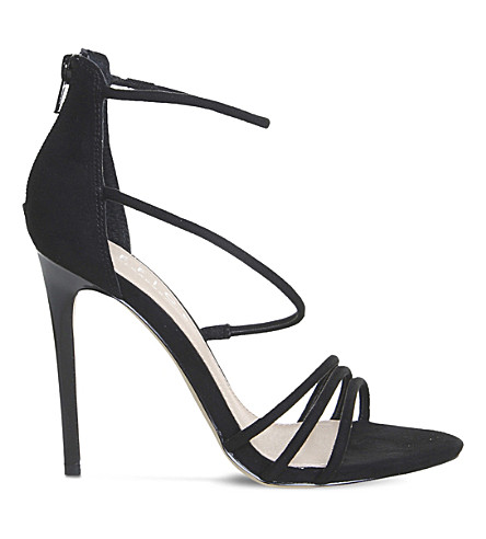 OFFICE Harness strappy sandals (Black