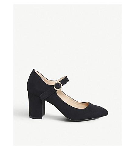 OFFICE Monte Carlo block-heeled mary jane's (Black