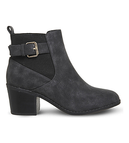 OFFICE Audrey buckled chelsea boots (Black