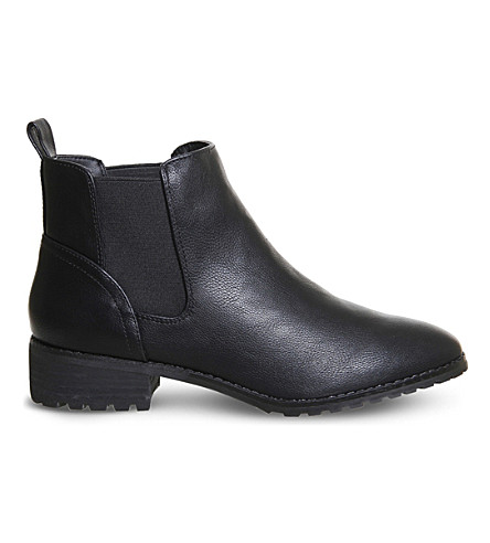 OFFICE Allie Chelsea boots (Black+tumbled