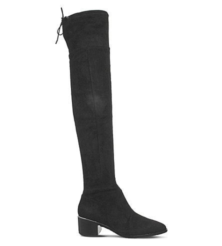 OFFICE Krow over-the-knee boots (Black