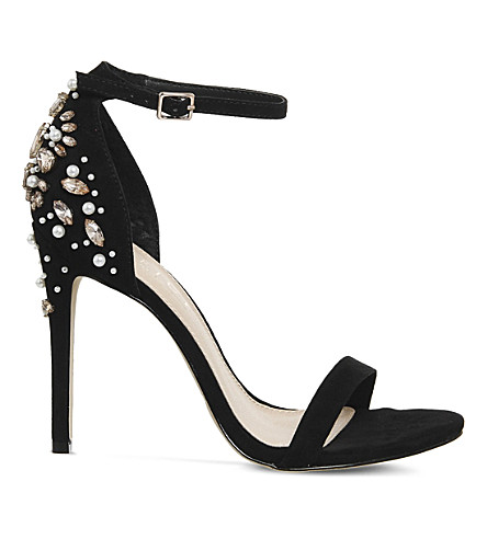 OFFICE Hottie embellished heels (Black