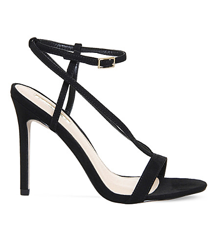 OFFICE Heartless strappy sandals (Black