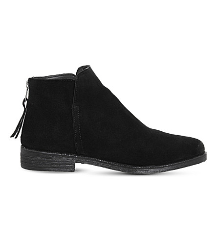 OFFICE Alfie suede ankle boots (Black+suede