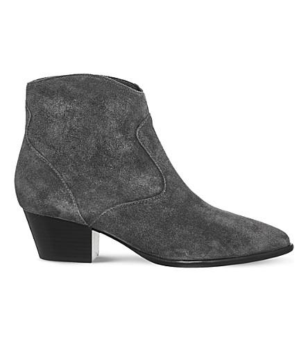 ASH Heidi bis suede ankle boots (Bistro+soft+suede